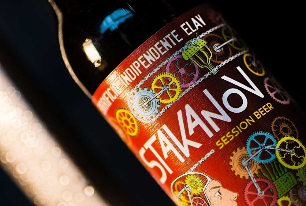 Stakanov Session Beer